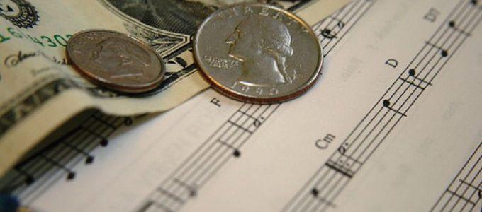 Tjäna pengar på musik